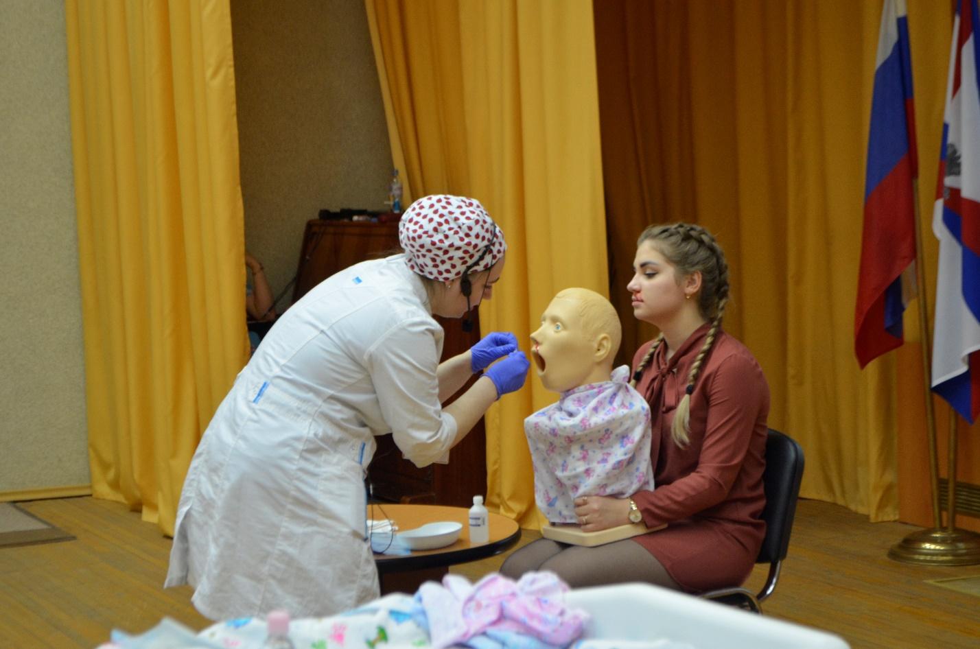 Конкурс профессионального мастерства среди студентов 3 курса медицинского колледжа филиала «Тяжело в учении – легко в бою»