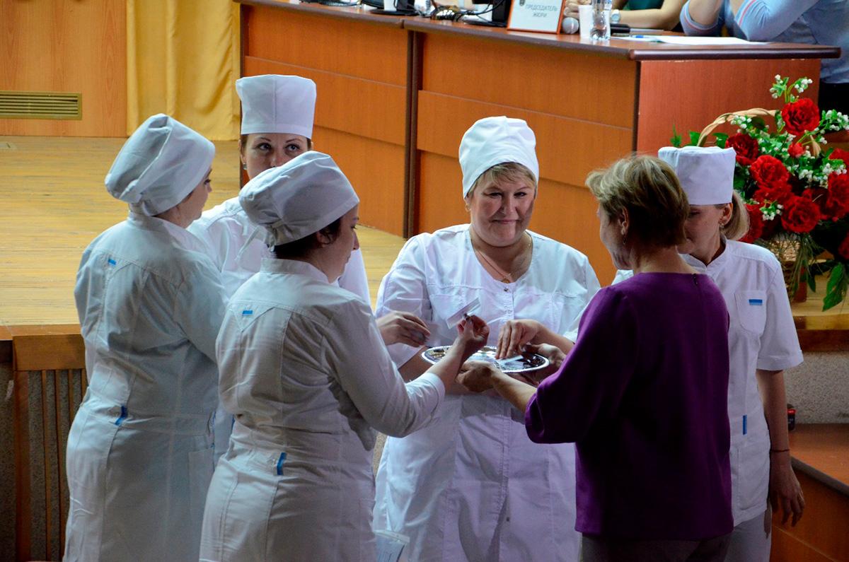 II конкурс профессионального мастерства среди медицинских сестер военно-медицинских организаций Министерства обороны Российской Федерации