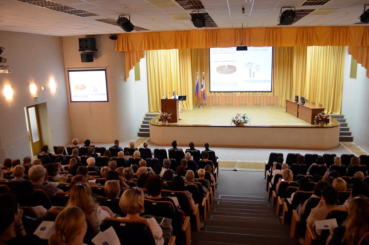 Особенности подготовки медицинских сестер в современном профессиональном образовании