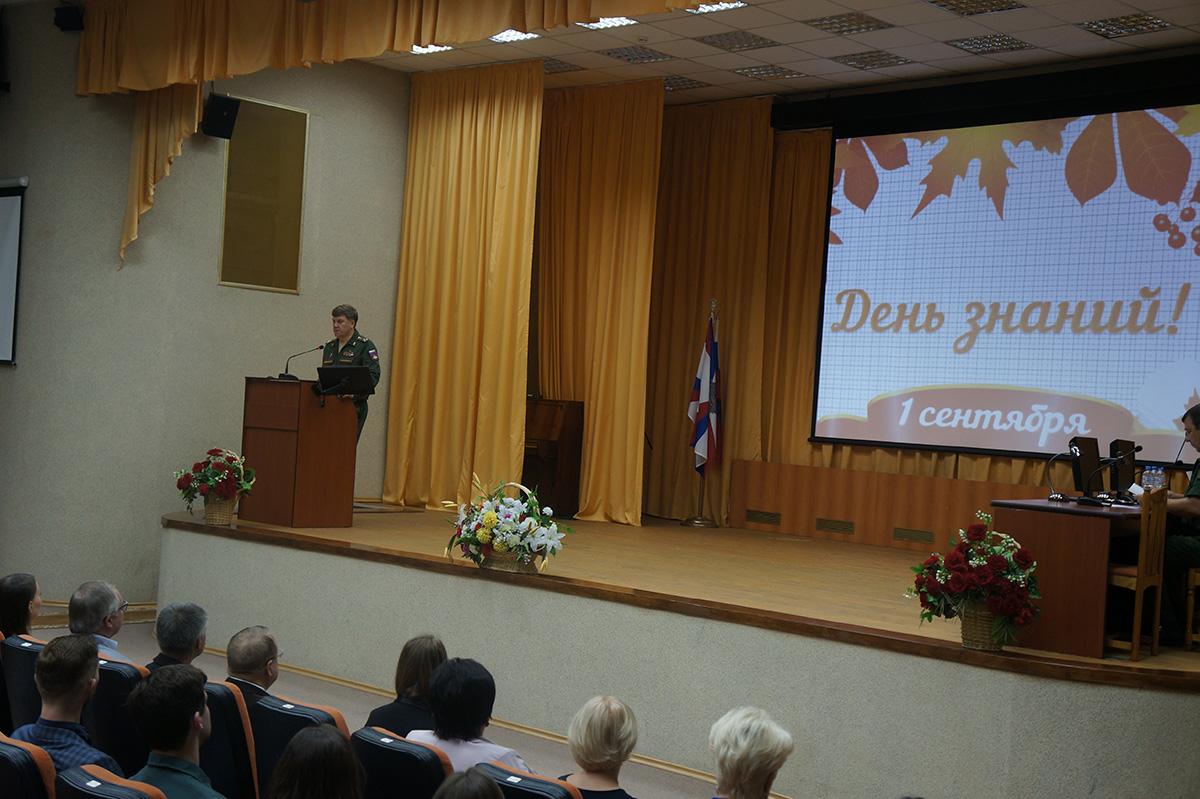День знаний в филиале Военно-медицинской академии